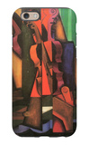 Violin and Guitar iPhone 6 Case by Juan Gris