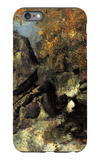 Rock in the Forest of Fontainbleau iPhone 6s Plus Case by Paul Cézanne