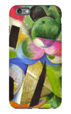 House with Trees iPhone 6 Plus Case by Franz Marc