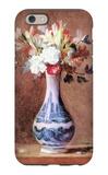Flowers in a Vase iPhone 6 Case by Jean-Baptiste Simeon Chardin