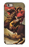 Napoleon Crossing the Alps iPhone 6 Case by Jacques-Louis David