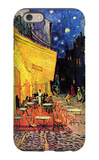 The Cafe Terrace on the Place Du Forum Arles at Night iPhone 6 Case by Vincent van Gogh
