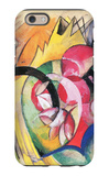 Colored Flowers iPhone 6 Case by Franz Marc