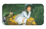 A Young Woman in a Boat iPhone 6s Plus Case by James Tissot