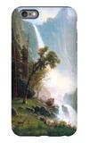 Yosemite Falls iPhone 6 Plus Case by Albert Bierstadt