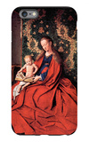 Madonna and Child Reading iPhone 6 Plus Case by Jan Van Eyck