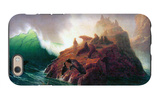 Seal Rock, California iPhone 6s Case by Albert Bierstadt