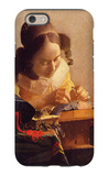 The Lacemaker iPhone 6 Case by Jan Vermeer