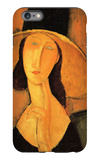 Portrait of Jeanne Hebuterne in a Large Hat iPhone 6 Plus Case by Amedeo Modigliani