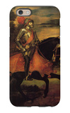 Emperor Charles V at Muhlberg iPhone 6 Case by  Titian