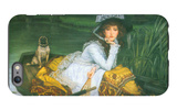 A Young Woman in a Boat iPhone 6 Plus Case by James Tissot