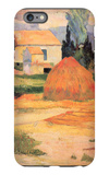 Farmhouses in Arles iPhone 6s Plus Case by Paul Gauguin