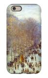 Boulevard Capucines iPhone 6 Case by Claude Monet