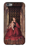 The Virgin and Child iPhone 6 Plus Case by Jan Van Eyck