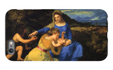 The Virgin and Child iPhone 6 Plus Case by  Titian