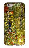 Garden with Crucifix iPhone 6 Case by Gustav Klimt