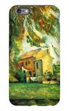 Farmhouse and Chestnut Trees at Jas de Bouffan iPhone 6s Plus Case by Paul Cézanne