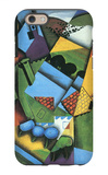 Landscape with Houses in Céret iPhone 6s Case by Juan Gris