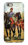Groom with Two Horses iPhone 6 Case by Henri de Toulouse-Lautrec
