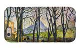 Chestnut Trees in Jas De Bouffan iPhone 6 Case by Paul Cézanne