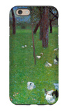 After the Rain (Garden with Chickens in St. Agatha) iPhone 6 Case by Gustav Klimt