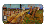 Path Through a Field with Willows iPhone 6 Case by Vincent van Gogh