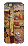 Yellow Christ iPhone 6 Case by Paul Gauguin