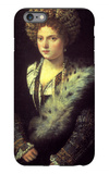 Isabella in Black iPhone 6 Plus Case by  Titian