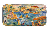 At the Beach of Guernesey iPhone 6 Case by Alfred Sisley