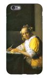 Woman in Yellow iPhone 6 Plus Case by Jan Vermeer