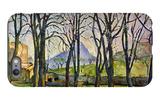 Chestnut Trees in Jas De Bouffan iPhone 6s Plus Case by Paul Cézanne