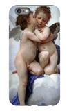 First Kiss iPhone 6s Plus Case by William Adolphe Bouguereau