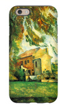 Farmhouse and Chestnut Trees at Jas de Bouffan iPhone 6 Case by Paul Cézanne