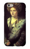 Isabella in Black iPhone 6 Case by  Titian
