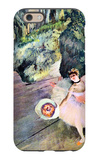 Dancer with a Bouquet of Flowers (The Star of the Ballet) iPhone 6 Case by Edgar Degas
