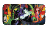 Abstract with Cattle iPhone 6 Case by Franz Marc