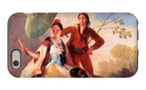 The Umbrellas iPhone 6 Case by Francisco de Goya