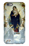 The Virgin with Angels iPhone 6 Plus Case by William Adolphe Bouguereau