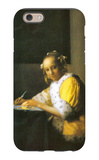 Woman in Yellow iPhone 6 Case by Jan Vermeer