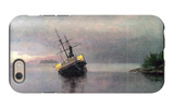 Shipwreck in Loring Bay, Alaska iPhone 6s Case by Albert Bierstadt