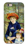 Two Sisters, or On the Terrace iPhone 6 Case by Pierre-Auguste Renoir