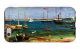 Nassau Port iPhone 6 Case by Albert Bierstadt