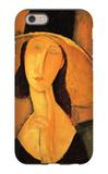 Portrait of Jeanne Hebuterne in a Large Hat iPhone 6 Case by Amedeo Modigliani
