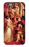 Medici Marriage in Florence iPhone 6 Plus Case by Peter Paul Rubens