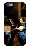 Dame on Spinet iPhone 6s Plus Case by Jan Vermeer