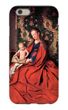 Madonna and Child Reading iPhone 6 Case by Jan Van Eyck