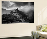 The Pre-Columbian Inca Ruins of Machu Picchu Wall Mural by Jim Richardson