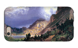 Storm in the Rockies, Mt. Rosalie iPhone 6s Case by Albert Bierstadt
