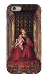The Virgin and Child iPhone 6 Case by Jan Van Eyck