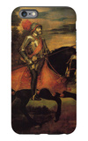 Emperor Charles V at Muhlberg iPhone 6 Plus Case by  Titian